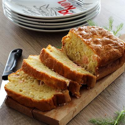 Illustration Cake Saumon et Fenouil