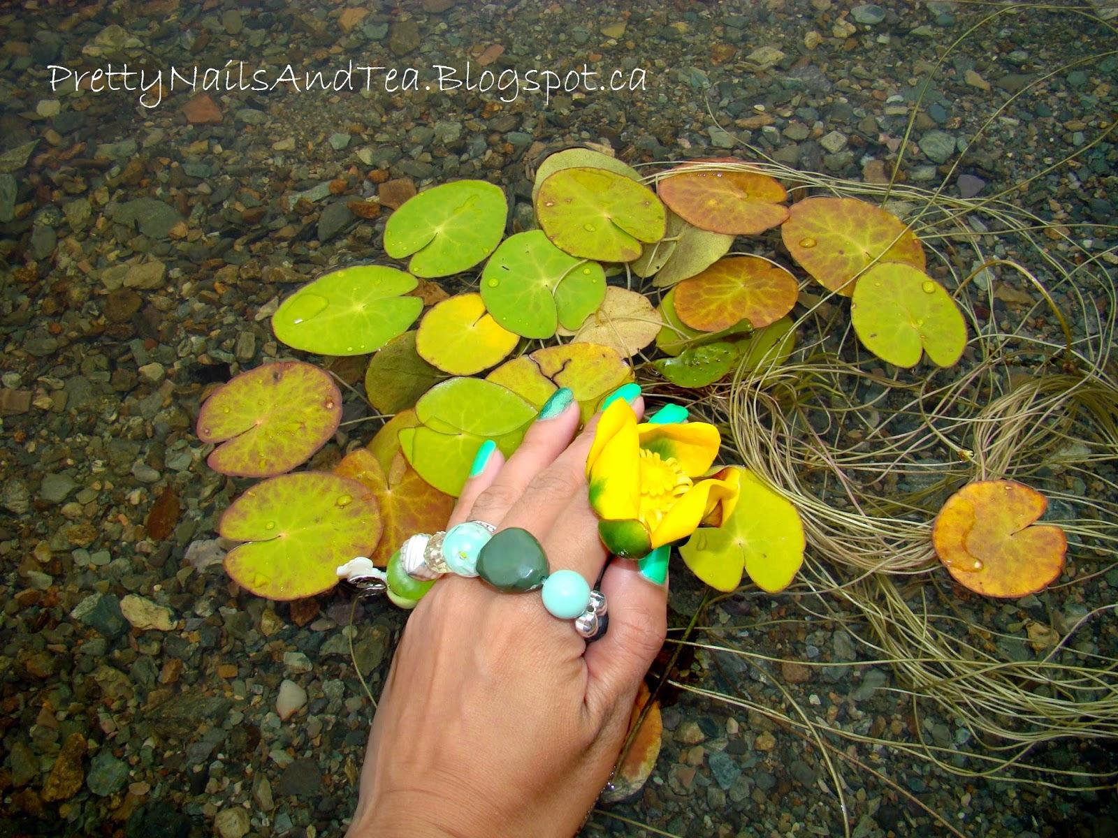 GreenNails   Nature   Pretty Nails And Tea