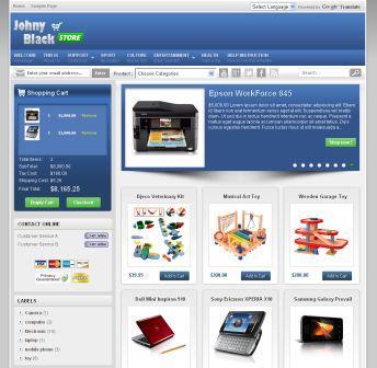 Template Blogspot Toko Online Gratis