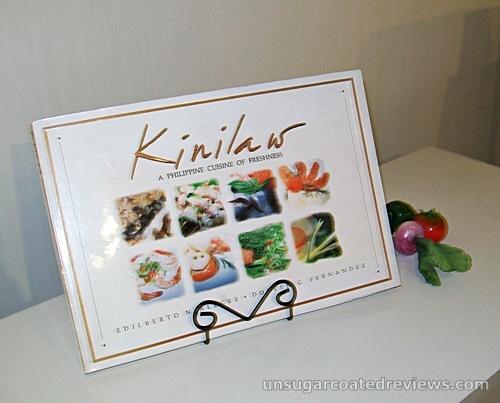 Kinilaw book by Doreen Fernandez