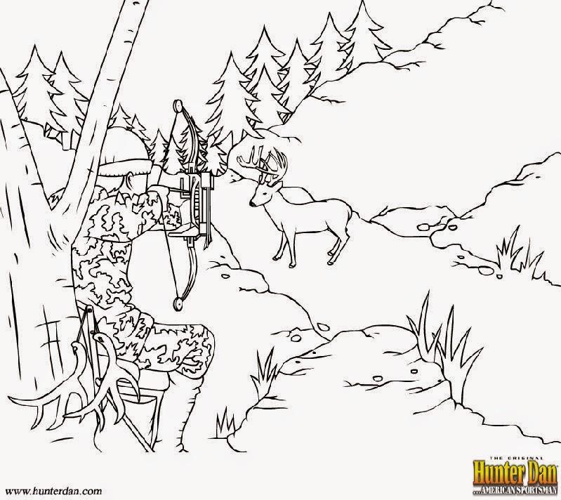 Охотничьи раскраски