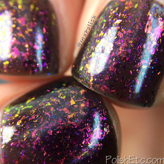 Loaded Lacquer - Beauty & the Beast Mode - McPolish - Gym-timidation macro
