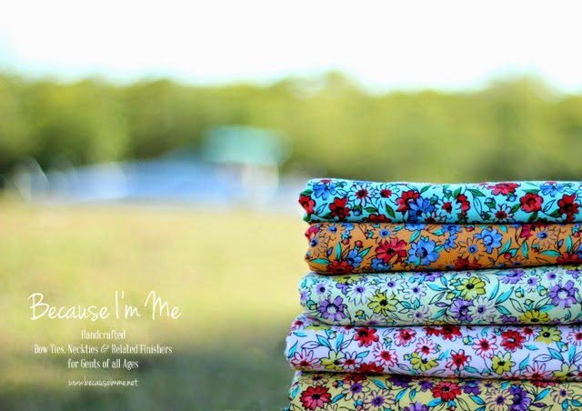 floral cotton summer prints, perfect for wedding ties