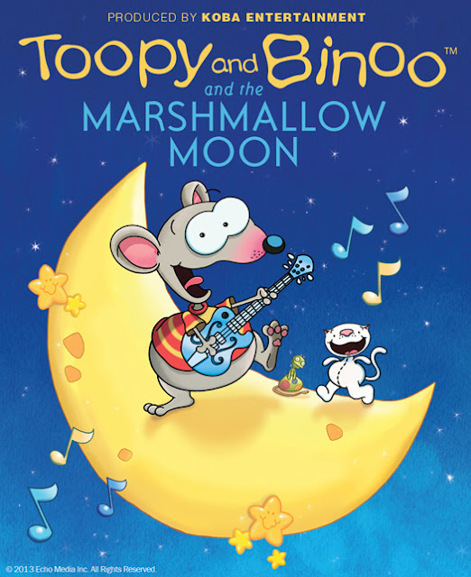 Toopy and Binoo and the Marshmallow Moon {Toronto} Giveaway! CAN~4/7 | Homeschooling Mom 4 Two