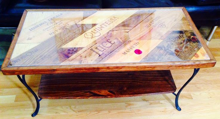 Wooden wine boxes wine crates the top 11 wine crate for Coffee table made out of wooden crates