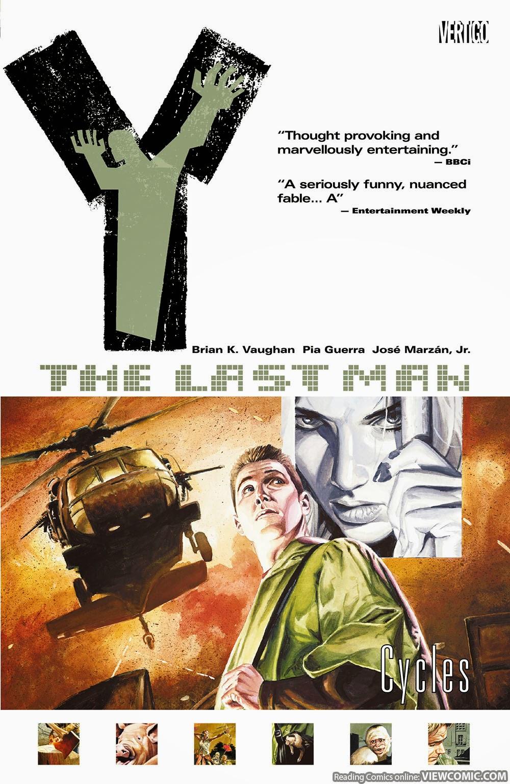 Y – The Last Man vol. 02 – Cycles (2003) …
