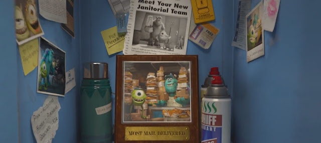 Dad and Mom Wazowski Mike's Parents Monsters University