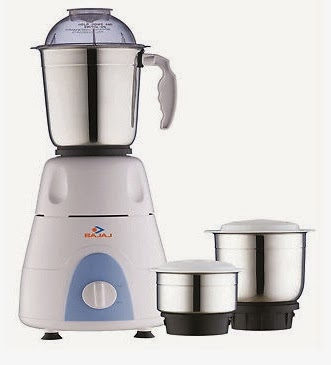 Bajaj GX 3 Mixer Grinder worth Rs.3095 just for Rs.2209 Only at Amazon