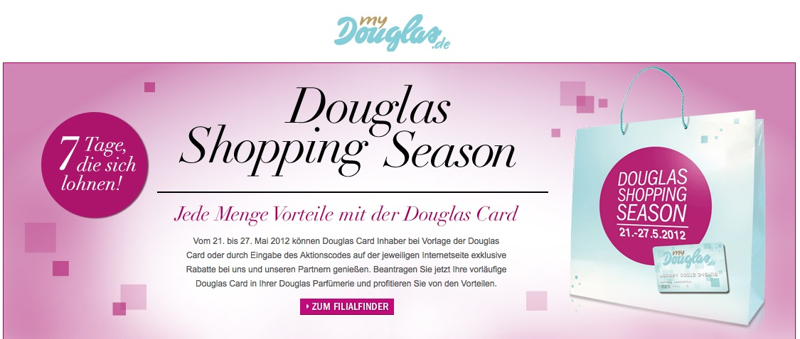 douglas card kontakt
