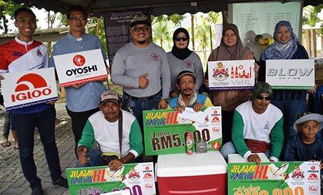 Wajah pemenang utama Jelajah Pancing KL Siri 4/2018 di Tasik Ampang Hilir