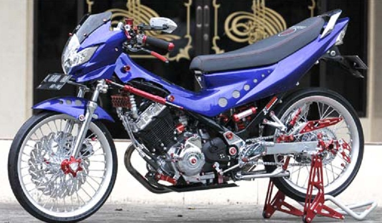350+ Modifikasi Motor Satria FU Terbaru 9 Out Of 10 Based On 10  title=