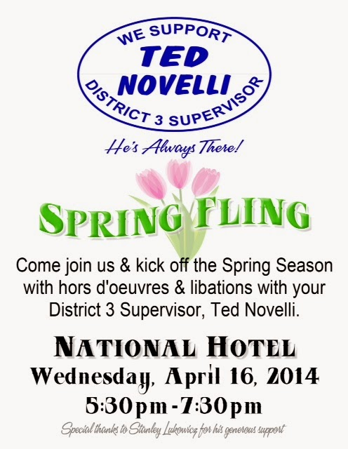 "Ted Novelli ""Spring Fling"" - Wed Apr 16"