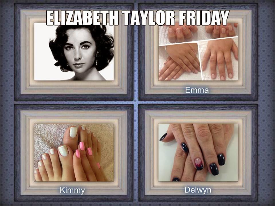 Acrylic sculpted fingernails and toes nail arts
