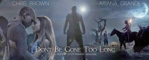 "Ariana Grande: ""Don't Be Gone Too Long"" Visual Artwork"