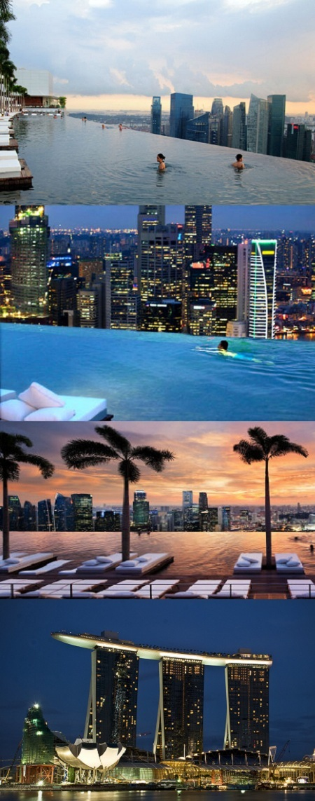 Marina bay sands hotel la piscina al borde del abismo - Marina bay sands piscina ...