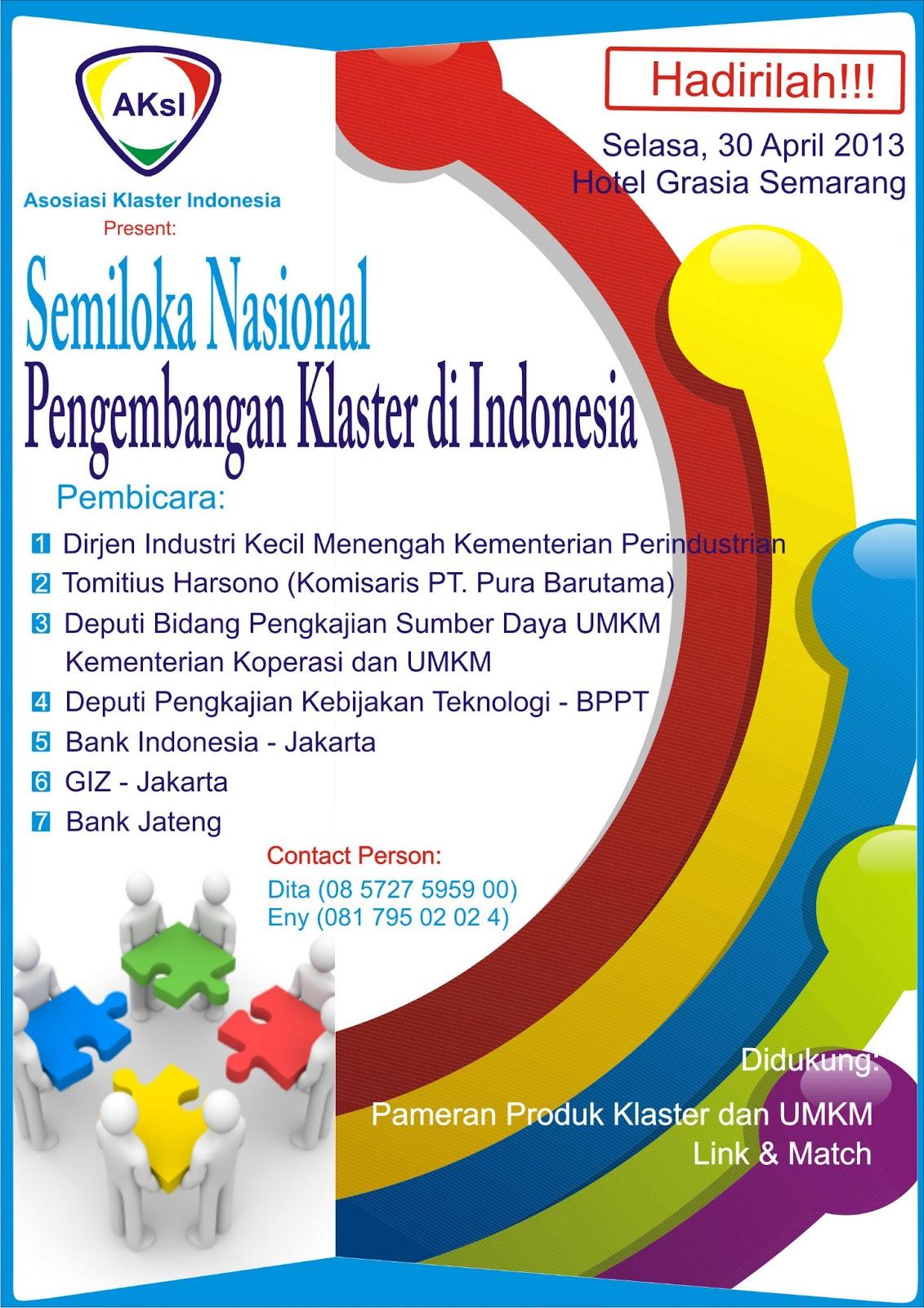 Klaster Umkm Produk Ukm Bumn Batik Parang Kembang Semiloka Nasional Pengembangan Di Indonesia