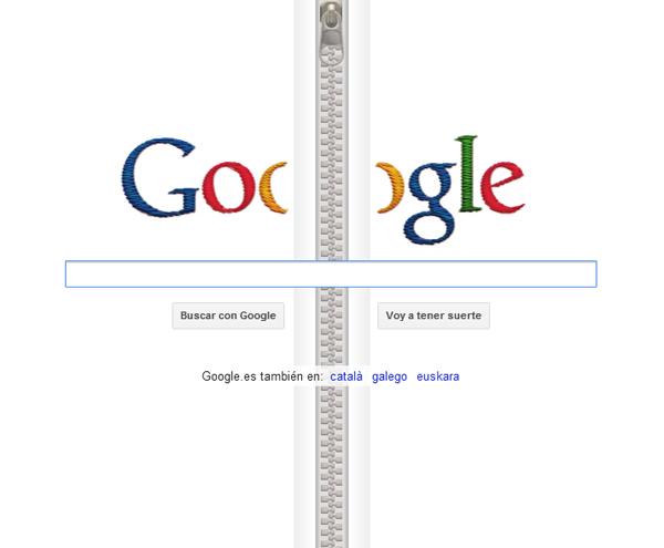 Google le dedica un doodle al creador de la cremallera Gideon Sundback