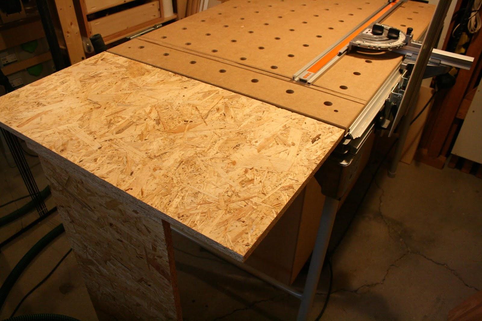 dominiks holzblog mft tischverl ngerung aus osb. Black Bedroom Furniture Sets. Home Design Ideas