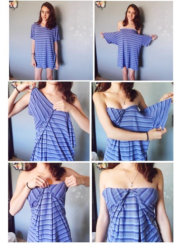 Как сделать платье новым