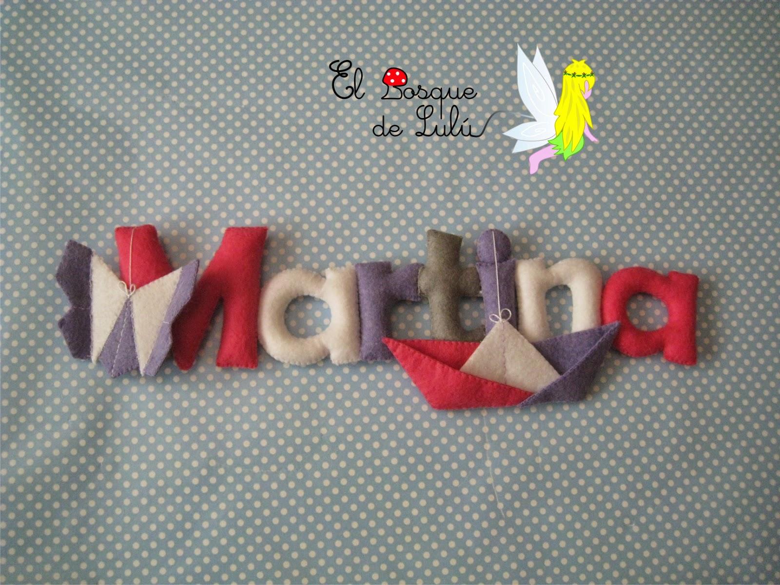 nombre-decorativo-fieltro-Martian-letrero-infantil-decoración-detalle-nacimiento