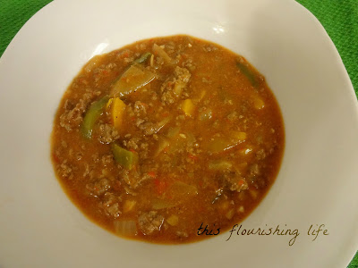 Beanless, Tomato-Free, Paleo Chili