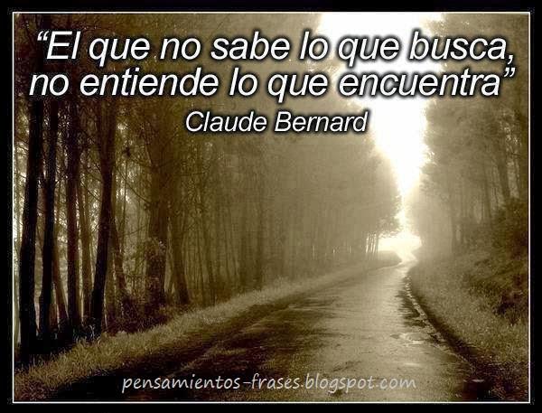 frases de Claude Bernard