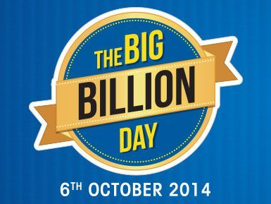 (Few Hours Left) Flipkart the big Billion day on 6th October 2014, LIVE NOW (See here for New Deals Updated)