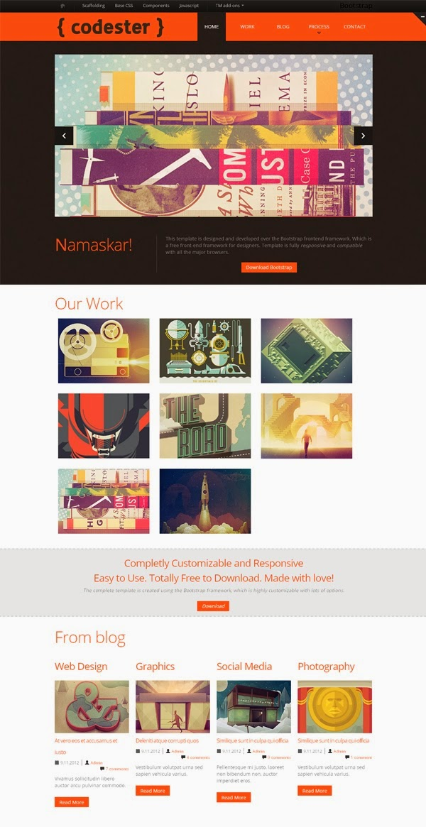 Codester PSD Website Templates