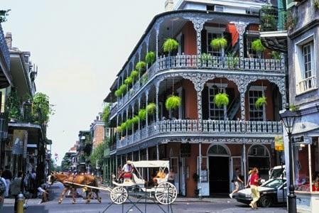 Palcem po mapie, czyli planujemy wakacyjny wypad- Nowy Orlean, Luizjana