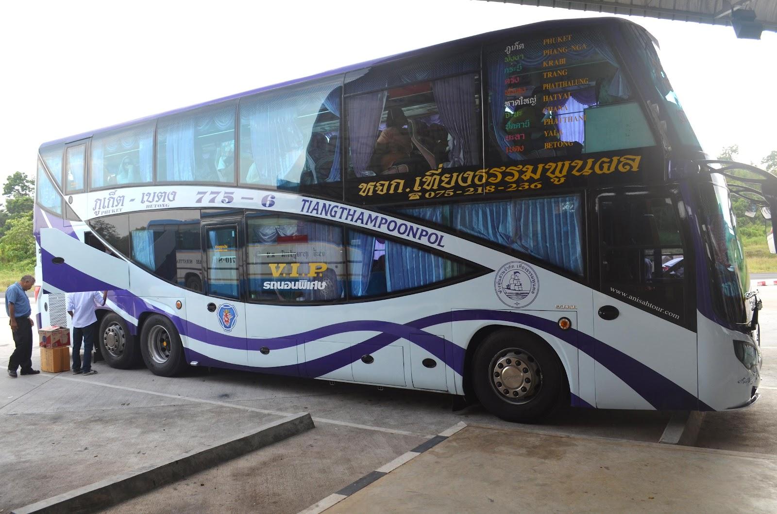 Viaja conmigo transporte en tailandia - Autobuses larga distancia ...