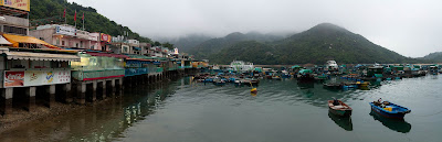 the village of Sok Kwu Wan on Lamma Island