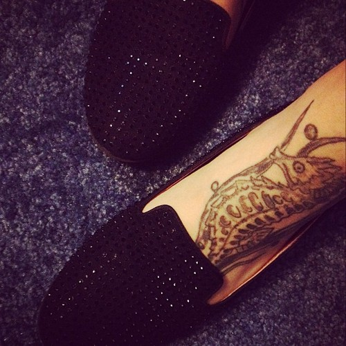 Seahorse Ankle Tattoos