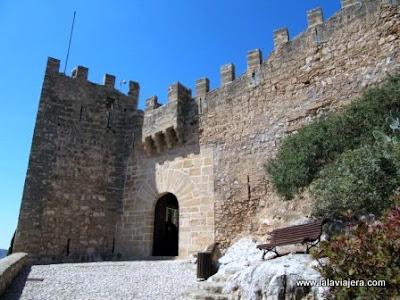 Puerta Entrada Castillo Capdepera, Mallorca