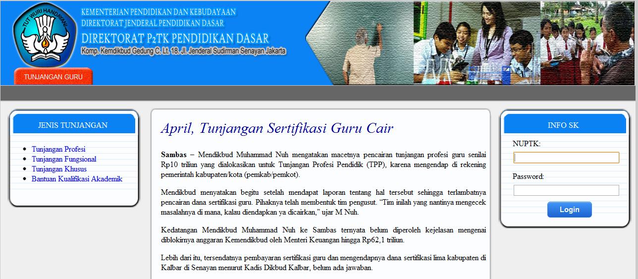 Pedoman Pelaksanaan Uji Kompetensi Guru 2013