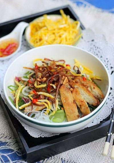 Vietnamese Noodle Recipes - Miến Trộn Mực Khô