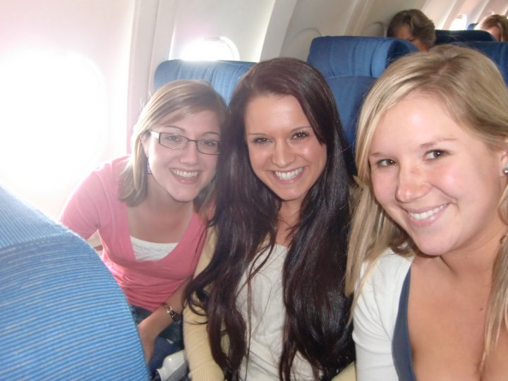 Girls on a plane