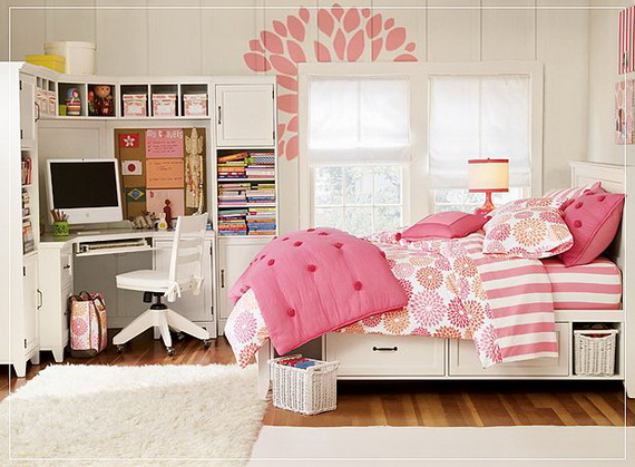 host colorful teen bedroom designs for girls
