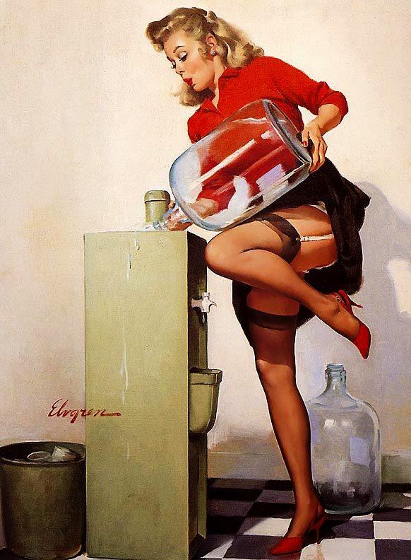 pintura sensual