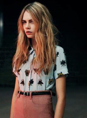 Cara Delevingne Street Style Pink Pants Fashion Model Runway Model