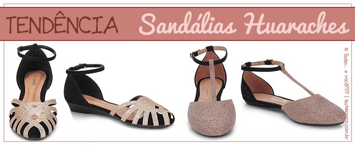 Tendência: Sandálias Huaraches