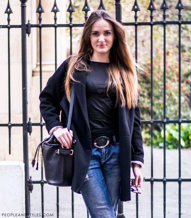 Magdalena Filipović Srhoj, simple chic outfit