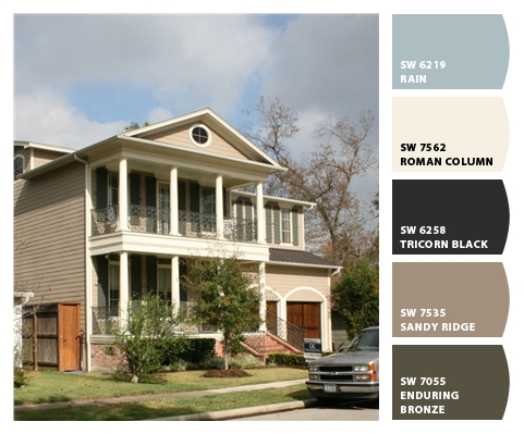 Exterior Paint Colors For Atomic Ranch Style Homes