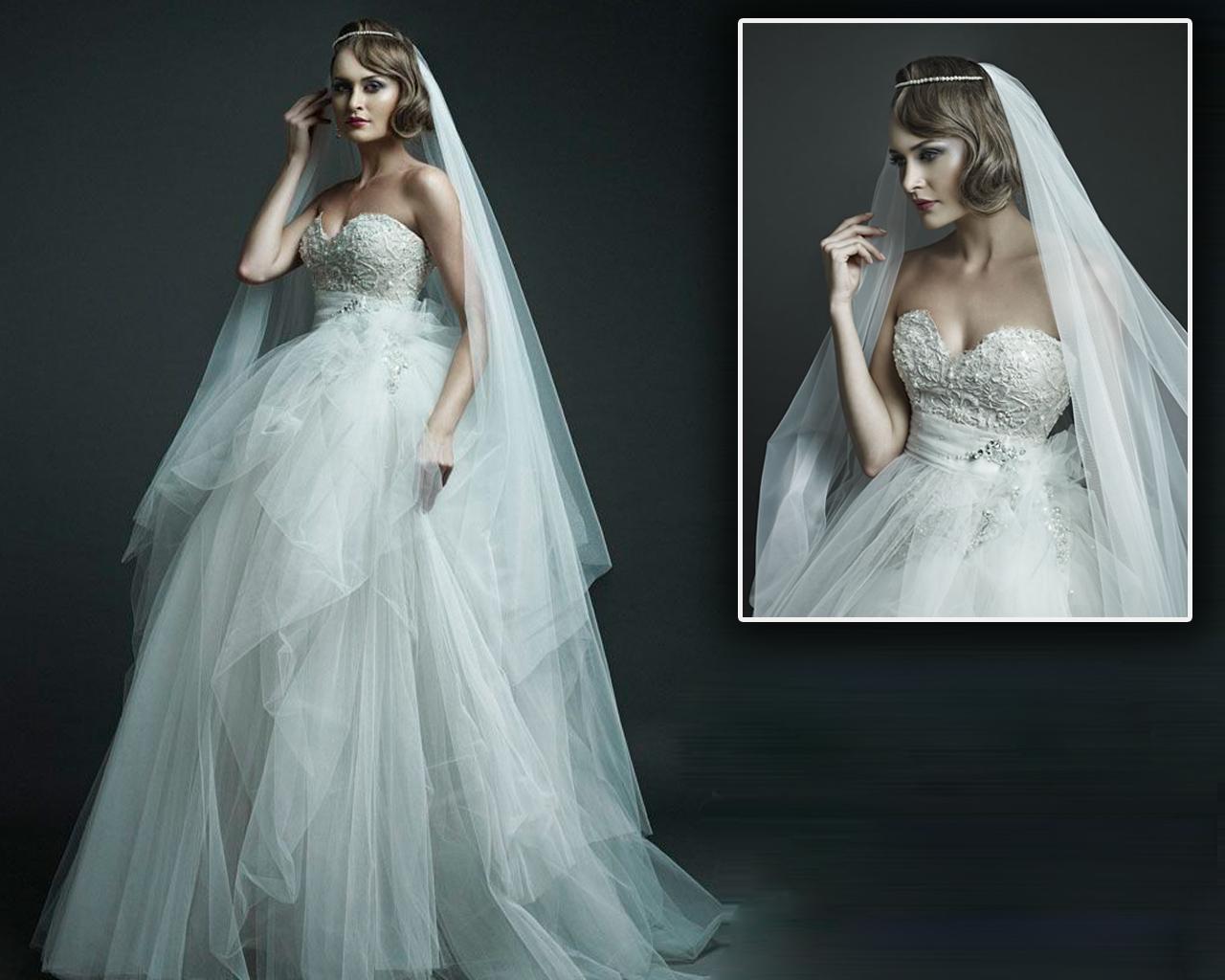 Hi Everyone, Welcome to Contessa.: Ersa Atelier wedding dress.