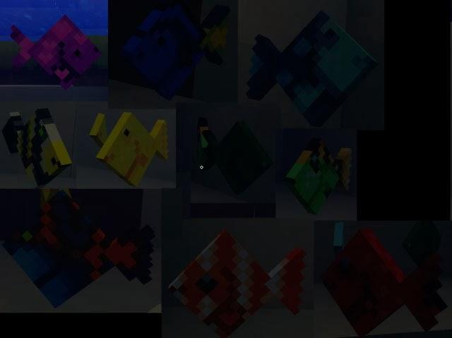 Mo' Creatures peces Minecraft mod