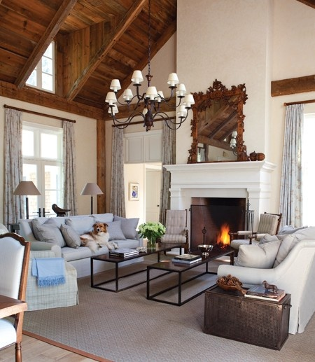 In This Case, They Have Used Two Coffee Tables, Maximizing The Area But  Still Making It Feel Cohesive. Part 95