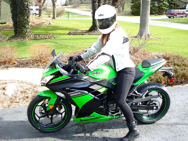 Motos diseñadas para chicas