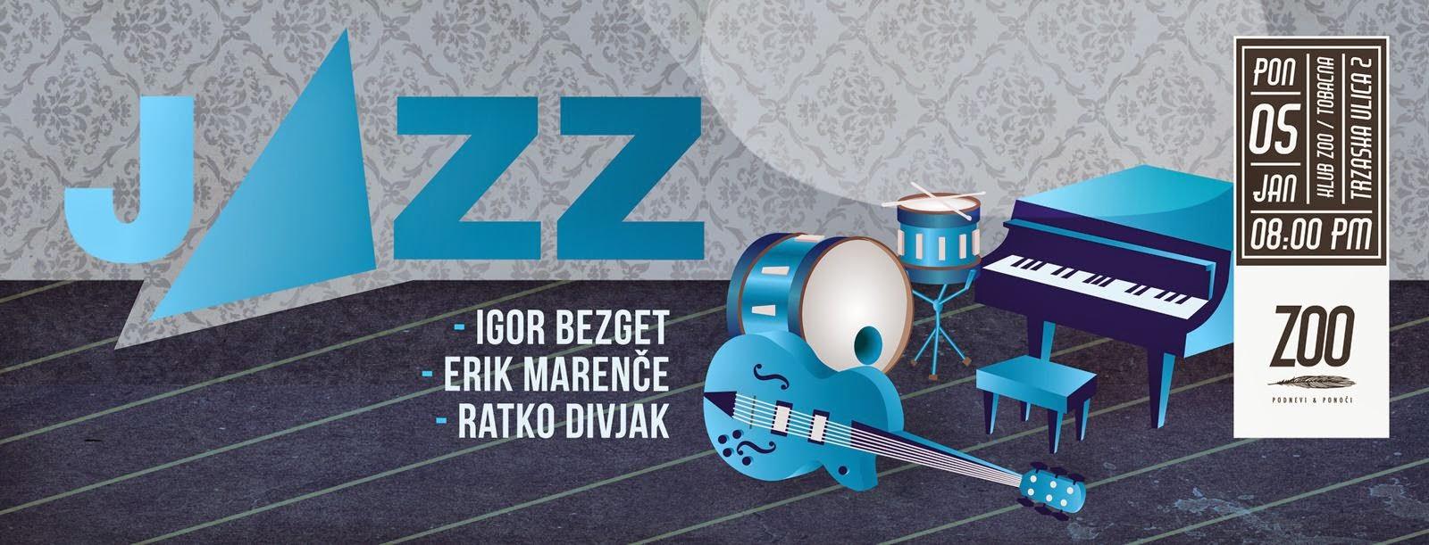 jazz ponedeljek