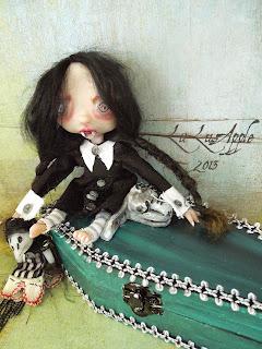 Vampire Wednesday Coffin Girl LuLusApple