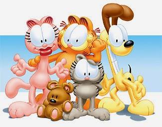 personajes de la serie de garfield y sus amigos