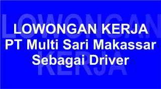 Lowongan Kerja PT Multi Sari Makassar